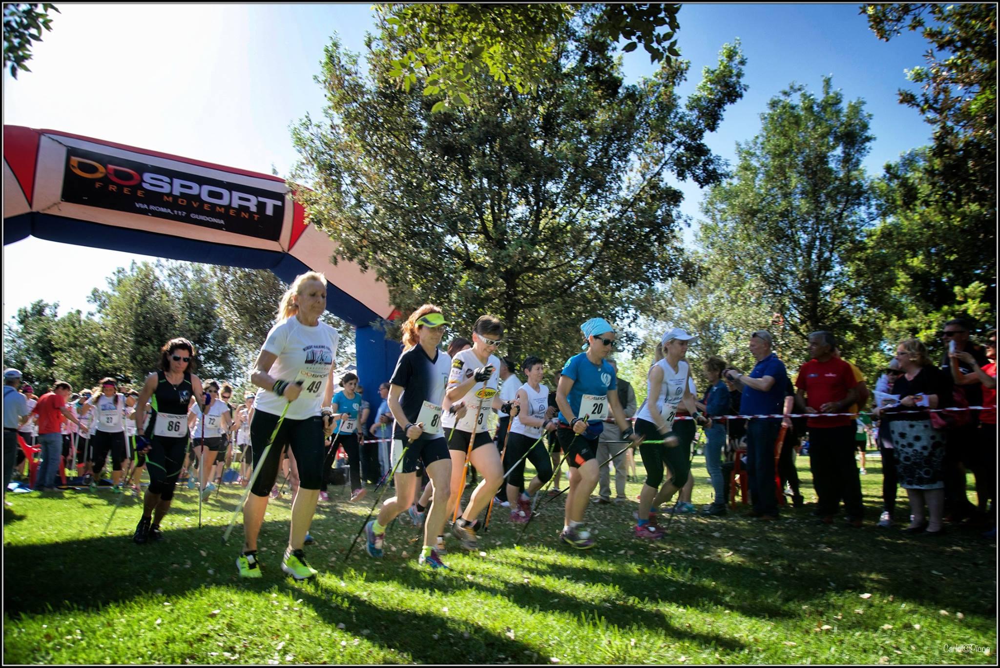 Aperte le iscrizioni per la 3° Tappa del Circuito Tricolore Nordic Walking Agonistico a Tivoli