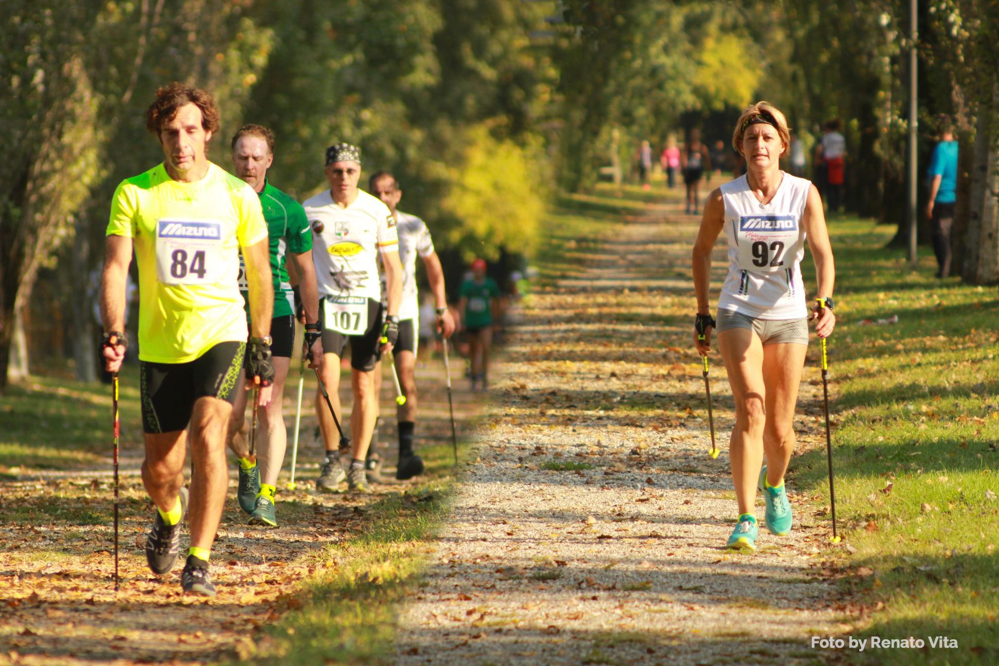 A Mantova si chiude il Circuito Tricolore con la proclamazione dei Campioni Italiani di Nordic Walking 2018